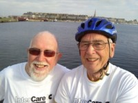 Two Tony's complete cycle challenge raising £1,258.84!