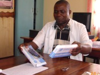 Meet Dr John, the Clinical Officer at St Joseph's Hospital, Limbe in Malawi