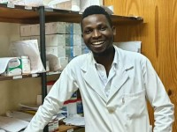 Meet Jezman, the Pharmacist at St Joseph's Hospital, Limbe in Malawi