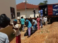 Third Shipping Container Arrives Safely in Sierra Leone