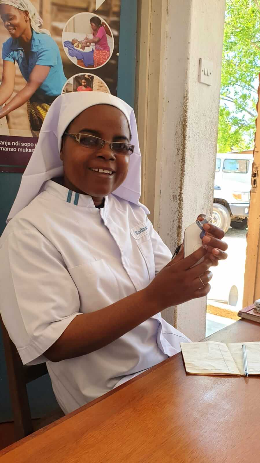 Meet Sr Martha, the Medical Assistant at Namulenga Health Centre in Malawi