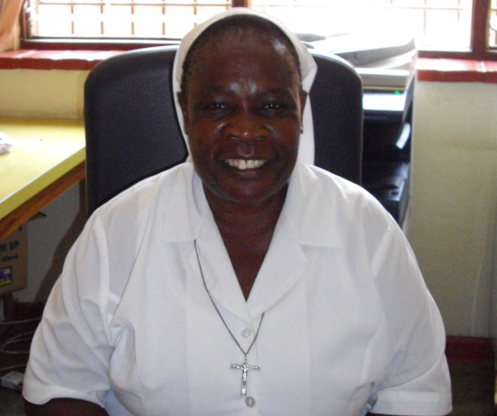 Meet Sr Mercy, the Sister in Charge at St Joseph's Hospital, Limbe in Malawi