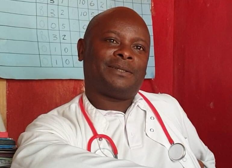 Meet Wellington, the Medical Assistant at St Martin's Health Centre in Malawi