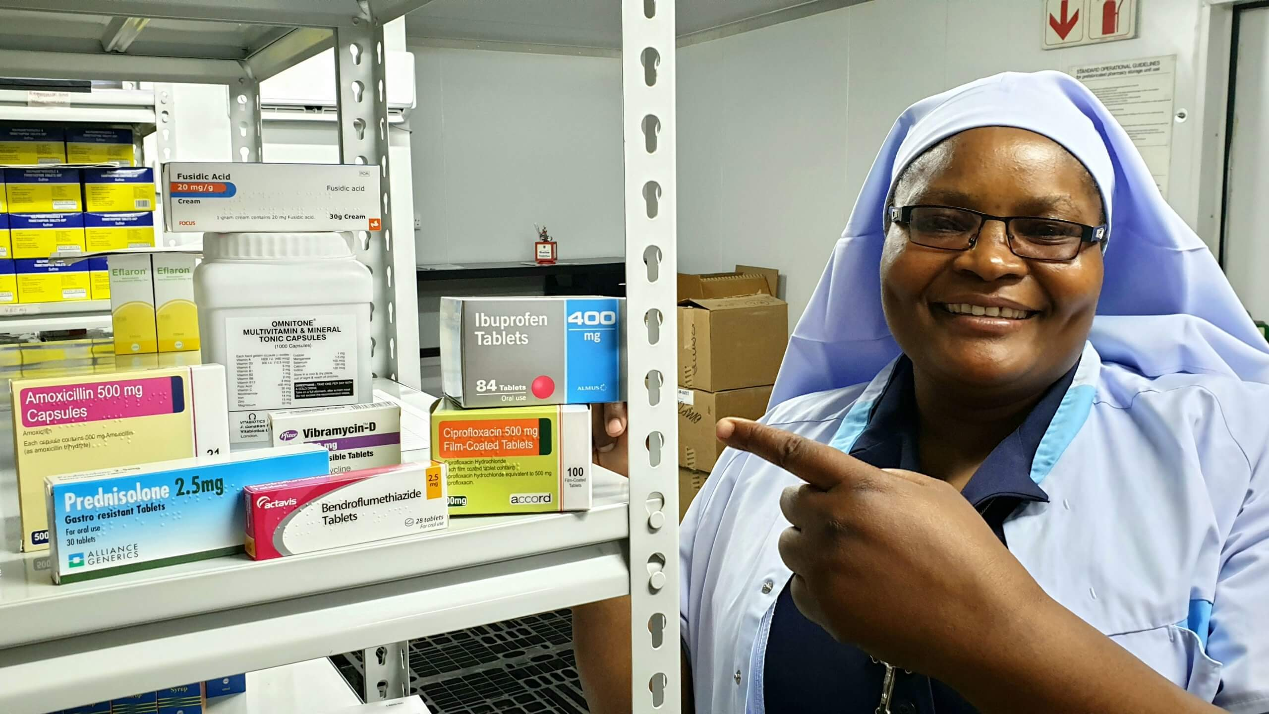 Meet Sr Teresa, the Medical Assistant at Nzama Health Centre