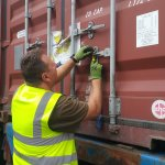 Container Full of Life Saving Medical Supplies Begins it's Journey to Africa
