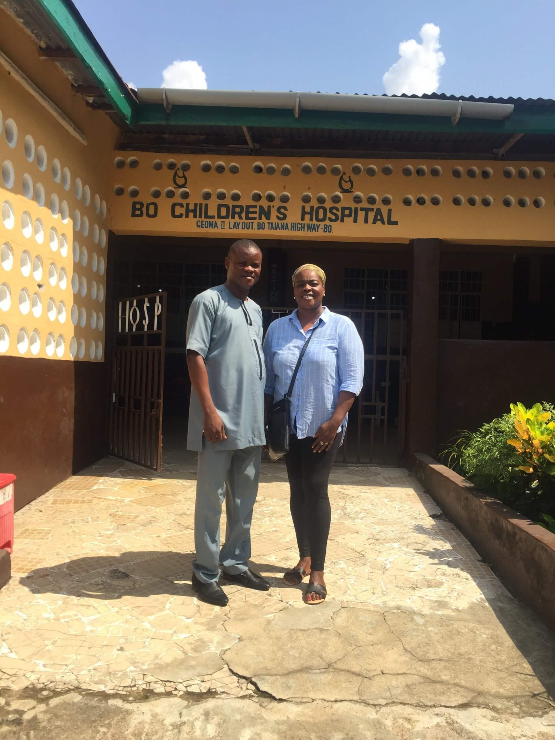 Mendewa Hospital, Bo